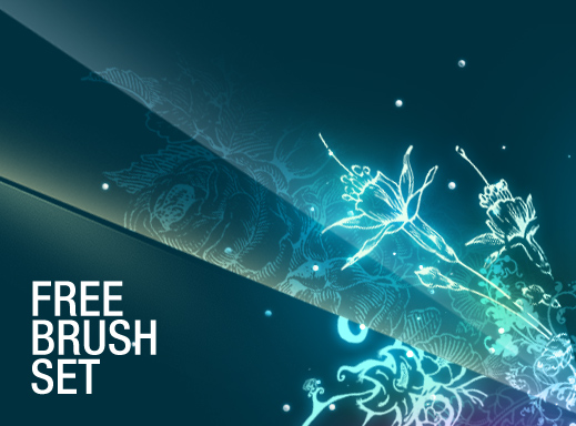 Free Floral Brushes Pack 1