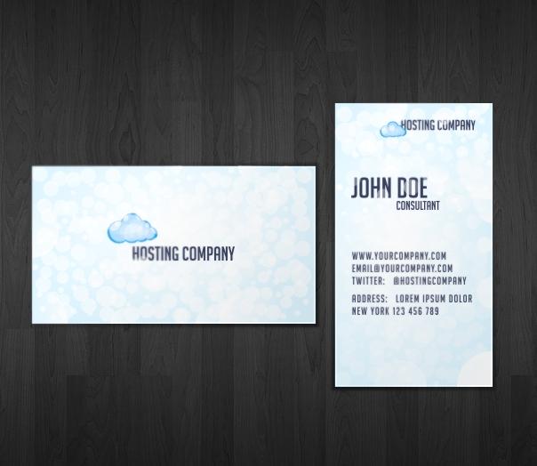 Hosting Business Card