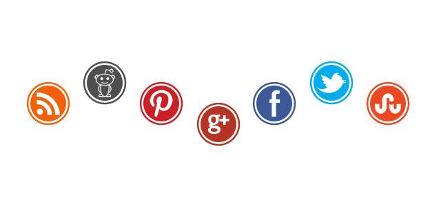 New Social Media Icon Set