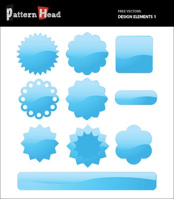 Free Shiny Vector Design Elements