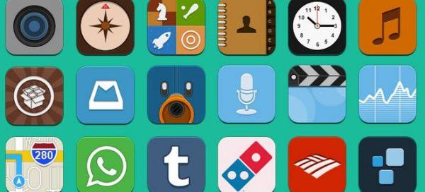 Flaterize: an iOS icon set