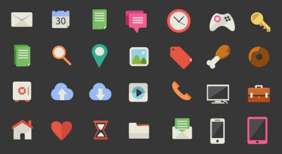 Freepik's 200 Beautiful Flat Icons
