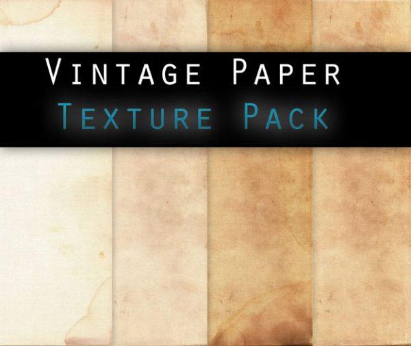 Vintage paper texture pack