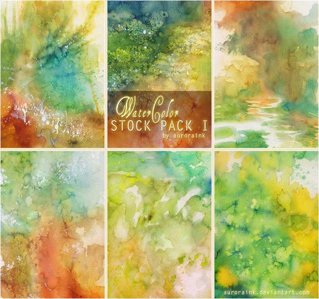 Watercolor - Stock Pack 1