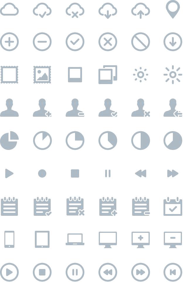 IKONS: 264 FREE vector icons